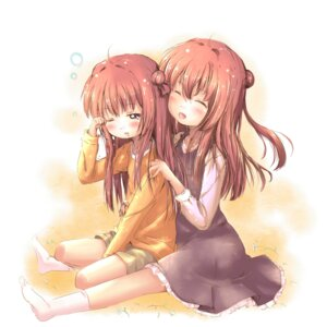 Rating: Safe Score: 10 Tags: akaza_akane akaza_akari kuma21543 yuru_yuri User: ddns001