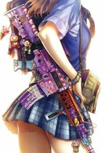 Rating: Safe Score: 110 Tags: gun hiroe_rei seifuku User: Twinsenzw