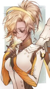Rating: Safe Score: 8 Tags: bodysuit mercy_(overwatch) overwatch seo-love wings User: charunetra