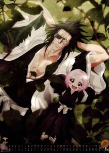 Rating: Safe Score: 15 Tags: bleach calendar eyepatch japanese_clothes kusajishi_yachiru zaraki_kenpachi User: Radioactive