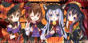Rating: Safe Score: 45 Tags: akatsuki_(kancolle) animal_ears halloween hibiki_(kancolle) hitokage ikazuchi_(kancolle) inazuma_(kancolle) kantai_collection nekomimi witch User: fairyren