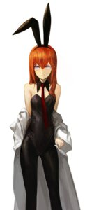 Rating: Safe Score: 92 Tags: animal_ears bunny_ears bunny_girl huke makise_kurisu pantyhose steins;gate User: demonbane1349
