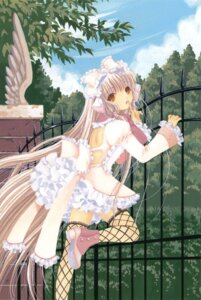 Rating: Safe Score: 26 Tags: chii chobits clamp dress fishnets lolita_fashion thighhighs User: Share