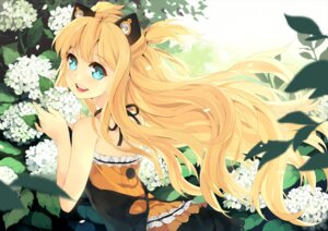 Rating: Safe Score: 22 Tags: animal_ears btoor dress nekomimi seeu vocaloid User: itsu-chan