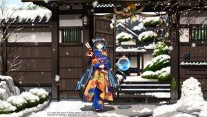 Rating: Safe Score: 19 Tags: kimono kirino_kasumu landscape suishou_shizuku User: hirotn