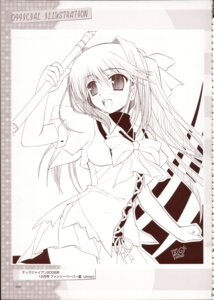 Rating: Safe Score: 6 Tags: haruno_yume monochrome primitive_link seifuku zinno User: admin2