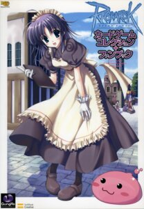 Rating: Safe Score: 11 Tags: kafra_girl maid nanao_naru poring ragnarok_online User: admin2