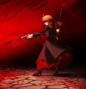 Rating: Safe Score: 5 Tags: blood umineko_no_naku_koro_ni ushiromiya_rosa vanilla_1000 User: 洛井夏石