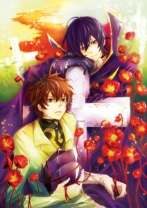 Rating: Safe Score: 4 Tags: astro-g code_geass kururugi_suzaku lelouch_lamperouge male User: charunetra