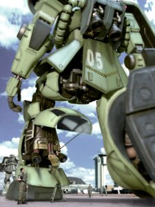 Rating: Safe Score: 4 Tags: mecha zaku User: Nazzrie