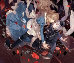 Rating: Safe Score: 17 Tags: alice alice_in_wonderland dhiea white_rabbit User: fairyren