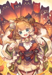 Rating: Safe Score: 14 Tags: animal_ears japanese_clothes kuuron_(moesann17) puzzle_&_dragons User: Mr_GT