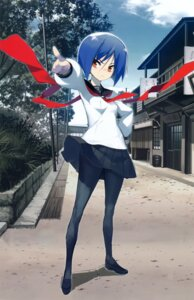 Rating: Safe Score: 28 Tags: ayane_ichijou full_metal_daemon_muramasa namaniku_atk pantyhose seifuku User: Radioactive