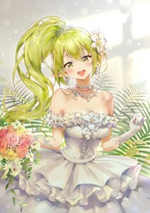 Rating: Safe Score: 55 Tags: cleavage dress elsword pointy_ears rena tanjel wedding_dress User: Mr_GT