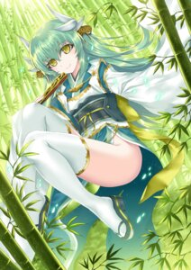 Rating: Safe Score: 36 Tags: fate/grand_order heels horns japanese_clothes kiyohime_(fate/grand_order) morizono_shiki thighhighs User: Mr_GT