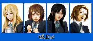 Rating: Safe Score: 13 Tags: akiyama_mio hirasawa_yui k-on! kotobuki_tsumugi lack seifuku tainaka_ritsu User: Radioactive