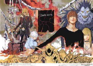 Rating: Safe Score: 5 Tags: amane_misa death_note l mello near obata_takeshi ryuk yagami_light User: Radioactive