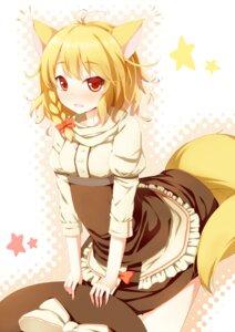 Rating: Safe Score: 40 Tags: animal_ears dabadhi kirisame_marisa kitsune tail touhou User: Nekotsúh
