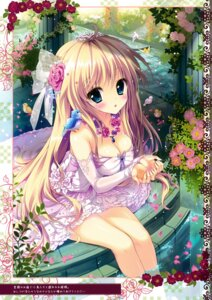 Rating: Safe Score: 100 Tags: ame_zaiku cleavage dress shiramori_yuse User: Hatsukoi