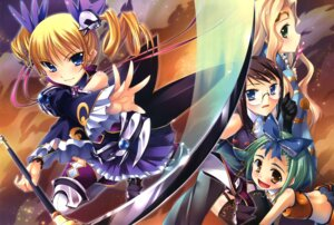 Rating: Questionable Score: 16 Tags: bleed_through kakuka kantaka koihime_musou sousou teiiku teni User: hituji7
