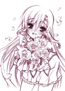 Rating: Safe Score: 23 Tags: hayate_no_gotoku katsura_hinagiku monochrome senomoto_hisashi User: fairyren