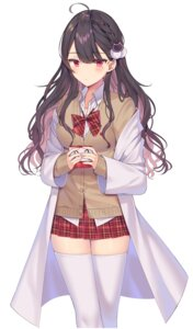 Rating: Safe Score: 42 Tags: izumo_neru seifuku sweater thighhighs User: Mr_GT