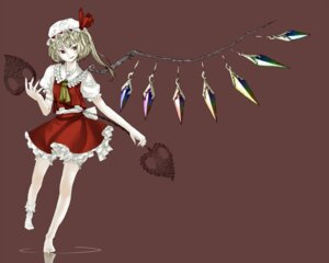 Rating: Safe Score: 4 Tags: flandre_scarlet ritsu ritsu_(roboroboro) touhou wings User: yumichi-sama