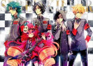 Rating: Safe Score: 9 Tags: eyepatch guitar horns naki_ringo two_lovers User: Aurelia