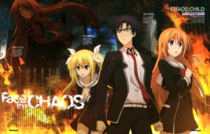 Rating: Safe Score: 20 Tags: chaos;child megane otsuki_nao seifuku User: drop