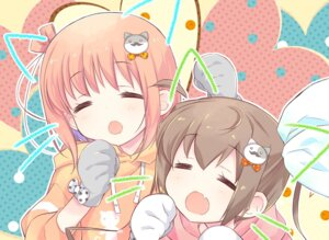 Rating: Safe Score: 17 Tags: animal_ears ichinose_hana momochi_tamate nekomimi slow_start tokumi_yuiko User: saemonnokami
