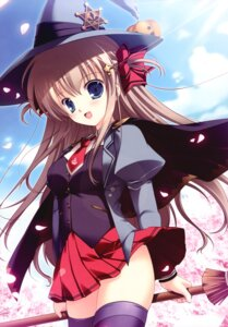 Rating: Questionable Score: 56 Tags: mikeou pink_chuchu seifuku thighhighs witch User: blooregardo