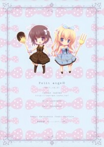 Rating: Safe Score: 16 Tags: canvas+garden chibi dress miyasaka_miyu miyasaka_nako User: crim