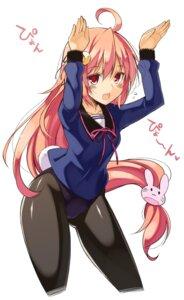 Rating: Safe Score: 48 Tags: bunny_girl kantai_collection oota_yuuichi pantyhose seifuku uzuki_(kancolle) User: tbchyu001