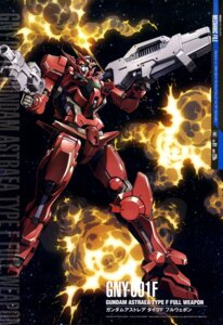 Rating: Safe Score: 9 Tags: gun gundam gundam_00 gundam_astraea mecha ueda_youichi weapon User: drop