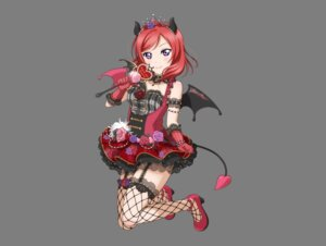 Rating: Safe Score: 28 Tags: fishnets heels horns love_live! love_live!_school_idol_festival nishikino_maki stockings tagme tail thighhighs transparent_png wings User: kotorilau