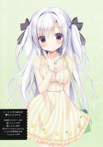 Rating: Safe Score: 92 Tags: canvas+garden cleavage dress licie_(canvas+garden) miyasaka_miyu User: yu33960