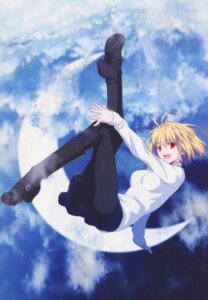 Rating: Safe Score: 47 Tags: arcueid_brunestud detexted heels pantyhose sweater takeuchi_takashi tsukihime type-moon User: Fanla