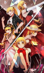 Rating: Safe Score: 37 Tags: bakemonogatari cleavage dress feet kissshot_acerolaorion_heartunderblade kizumonogatari monogatari_(series) oshino_shinobu pointy_ears sword tagme User: Radioactive