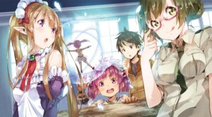 Rating: Questionable Score: 14 Tags: maid megane outbreak_company pointy_ears tagme uniform yuugen User: kiyoe