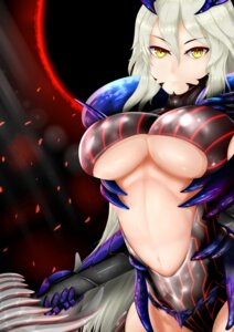 Rating: Questionable Score: 22 Tags: arturia_pendragon_(lancer) fate/grand_order leotard new_overmind no_bra underboob weapon User: mash