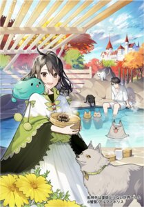 Rating: Safe Score: 6 Tags: misoni_comi neko onsen User: Mr_GT