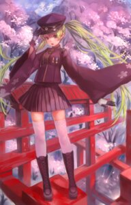 Rating: Safe Score: 18 Tags: hatsune_miku senbon-zakura_(vocaloid) thighhighs vocaloid zrero User: animeprincess
