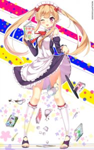 Rating: Safe Score: 90 Tags: elf gendo0032 maid myuseru_foaran outbreak_company pointy_ears User: gendo0032