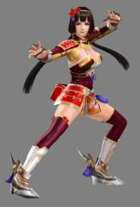 Rating: Questionable Score: 20 Tags: armor cg cleavage dead_or_alive dead_or_alive_5 heels naotora_ii pantsu samurai_warriors samurai_warriors_4_extreme_legends thighhighs User: Yokaiou