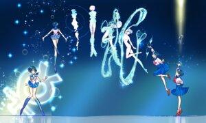 Rating: Questionable Score: 13 Tags: ass censored heels mizuno_ami naked sailor_moon seifuku skirt_lift tagme User: saemonnokami