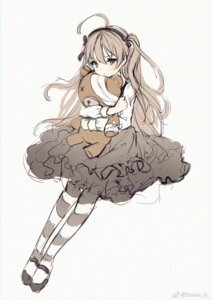 Rating: Safe Score: 20 Tags: bandages girls_und_panzer gothic_lolita lolita_fashion pantyhose shimada_arisu sketch snow_is_ watermark User: 御坂Misaka丶