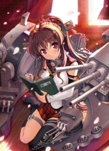 Rating: Safe Score: 62 Tags: bekkankou kantai_collection thighhighs yamato_(kancolle) User: Anonymous