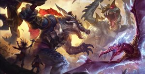 Rating: Safe Score: 15 Tags: anivia cho'gath league_of_legends renekton tagme User: Radioactive