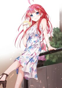 Rating: Safe Score: 47 Tags: 5-toubun_no_hanayome dress heels nakano_itsuki sahara386 summer_dress User: yanis