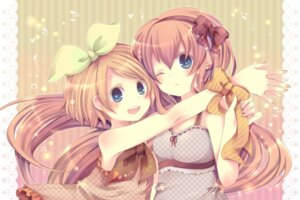Rating: Safe Score: 21 Tags: kagamine_rin maimu_(polka) megurine_luka vocaloid User: blooregardo